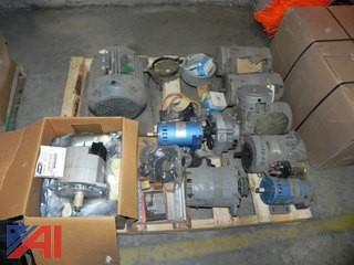 Pallet of Alternator and Electric Motors