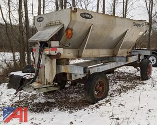 Stainless Steel 9' Hi-Way Spreader