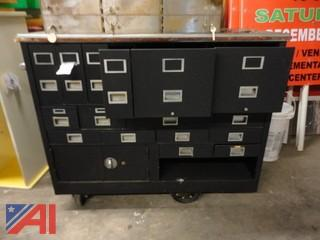 Mobile File Storage Cabinet