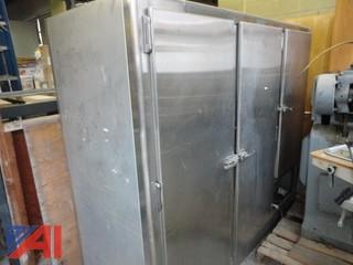 Three Door Stainless Steel Refrigerator
