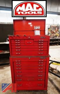 MAC Chest on Chest Tool Box with Tooling