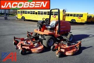 Jacobsen HR-5111 Rotary Mower with ROPS and Attachments