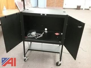 Metal Storage Cart