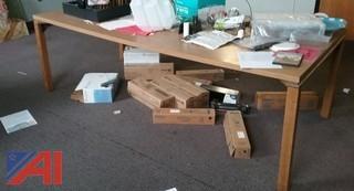 Rectangular Wooden Tables