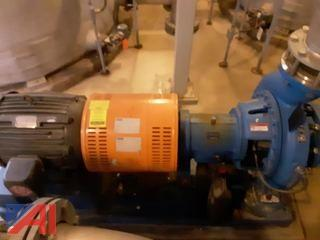Recirculating Pump and Motor