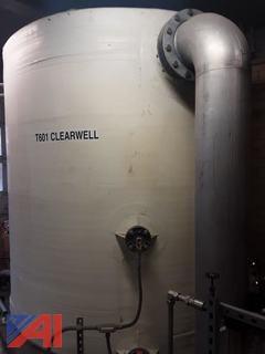 Fiberglass Clearwell Tank