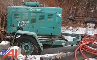 Onan 15kw Electric Plant Generator, Trailer Mounted