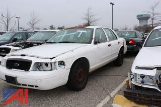 2007 Ford Crown Victoria 4 Door/Police Interceptor