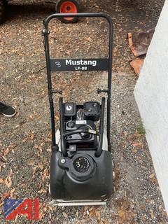 Mustang Lf88 Plate Compactor Walk Behind Vibration Soil Tamper