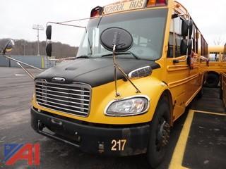 2012 Thomas/Freightliner Saf-T-Liner B2 School Bus