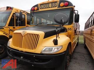 2010 International CE 3000 Wheel Chair School Bus