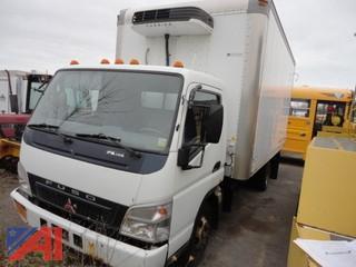 2007 Mitsubishi Fuso FE84D Refrigerated Box truck