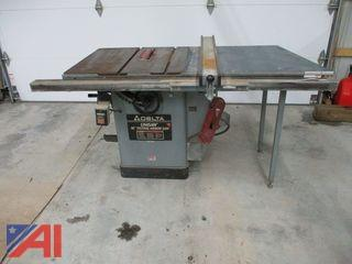 Delta Table Saw with Fence