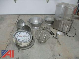 Misc. Commercial Kitchen Equipment