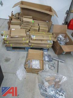 Large Lot of Metal Brackets/Hardware