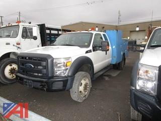 2012 Ford F450 Super Duty Extended Cab Utility Truck