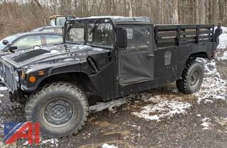 1988 AM General Humvee Utility Truck