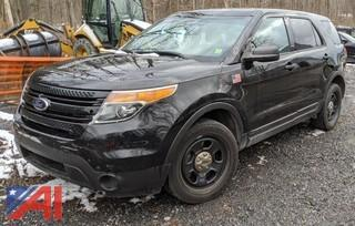 2014 Ford Explorer SUV/Police Interceptor