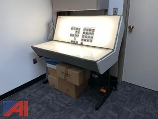 Matrix Model CE II Light Table