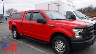 2015 Ford F150 Pickup Truck with Cap