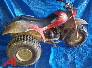 Honda ATC 125M 3 Wheeler ATV