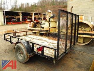 2004 Parker SA7710 UtilityTrailer with Ramp