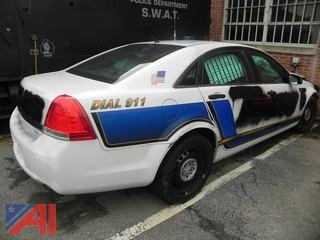 (105) 2012 Chevy Caprice 4 Door/Police Vehicle