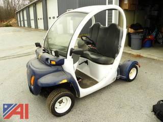 (#1) 2002 Gem E825 Electric Car