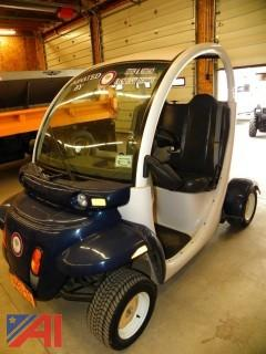 (#2) 2002 GEM E825 Electric Car