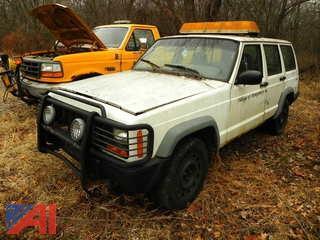 (#4) 1997 Jeep Cherokee SUV