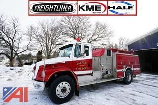 1996 Freightliner FL-80 KME Pumper Truck
