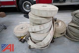 """2 1/2"""" Water Hose and 50' Hoses"""
