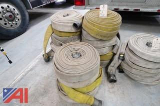 """2 1/2"""" Water Hose and (16) 50' Hoses"""
