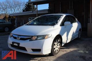 2009 Honda Civic Sedan/Damaged