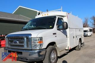 2010 Ford E350 Utility Truck