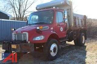 2007 Freightliner Business Class M2 Dump Truck with Plow