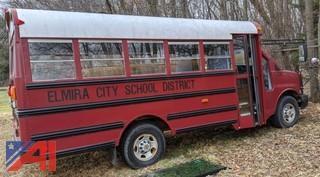 2004 Chevy Express G3500 Mini School Bus