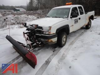 2003 Chevy Silverado 2500HD Pickup Truck & Plow