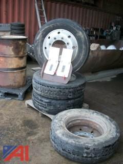 Aluminum Rims & Tires