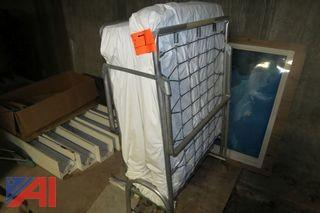 Folding Cot with Mattress