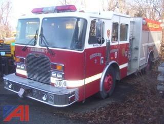 1999 KME Excel Pumper Truck