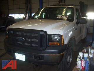2007 Ford F250 XL Super Duty Utility Truck