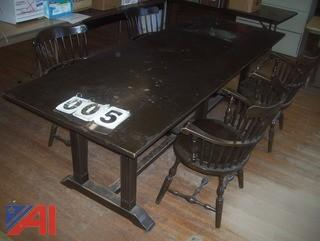 Antique Conference Table