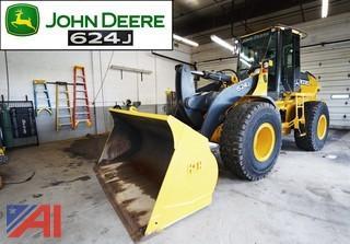 2004 John Deere 624J Articulated Wheel Loader
