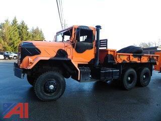 1984 American General 5 Ton 6 x 6 10 Wheeler Military Cargo Truck