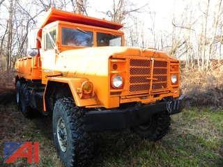1981 American General 5 Ton 6 x 6 Dump Truck