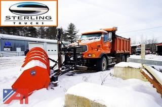 2006 Sterling L9000 Dump Truck with Plow