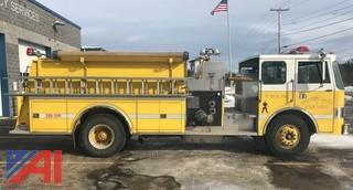 **UPDATED** 1983 Pierce Dash Pumper Fire Truck