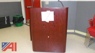 (#7) Wooden Podium