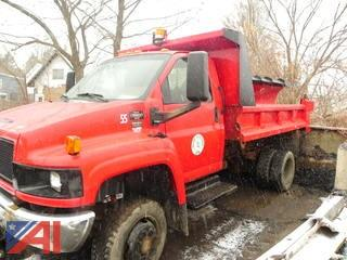 2005 GMC C5500 Dump Truck with Plow